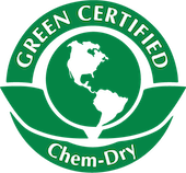 green certified chemdry badge