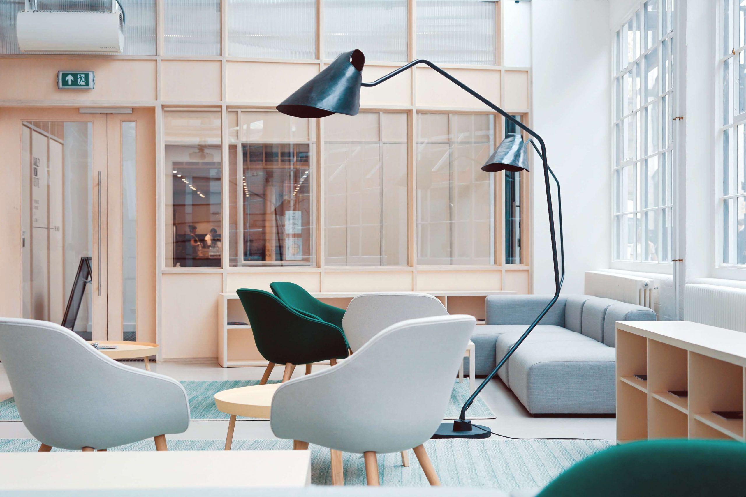 commercial interior with furniture in raleigh north carolina